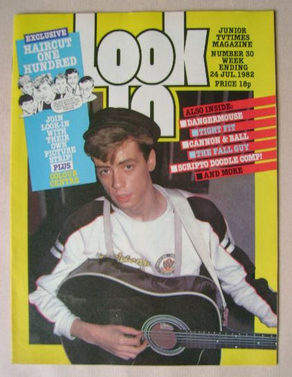 <!--1982-07-24-->Look In magazine - Nick Heyward cover (24 July 1982)