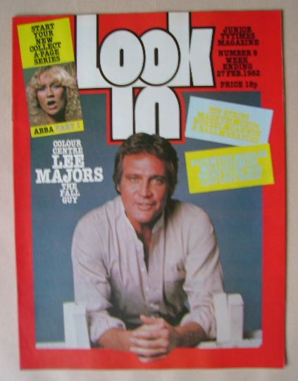 <!--1982-02-27-->Look In magazine - Lee Majors cover (27 February 1982)