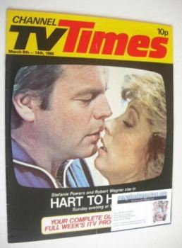 CTV Times magazine - 8-14 March 1980 - Hart To Hart cover