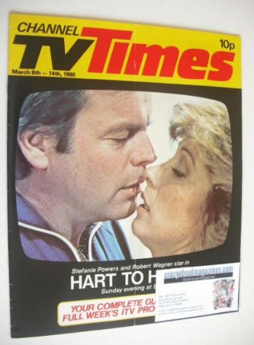 <!--1980-03-08-->CTV Times magazine - 8-14 March 1980 - Hart To Hart cover