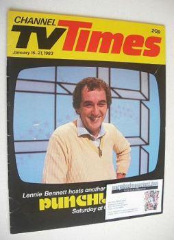 CTV Times magazine - 15-21 January 1983 - Lennie Bennett cover