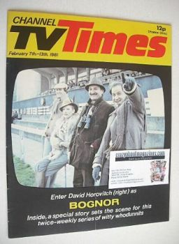 CTV Times magazine - 7-13 February 1981 - Bognor cover