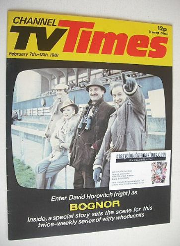 <!--1981-02-07-->CTV Times magazine - 7-13 February 1981 - Bognor cover