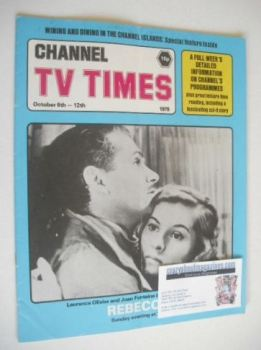 CTV Times magazine - 6-12 October 1979 - Laurence Olivier and Joan Fontaine cover
