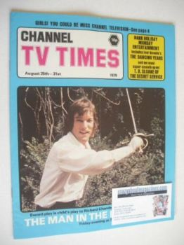 CTV Times magazine - 25-31 August 1979 - Richard Chamberlain cover