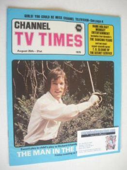 CTV Times magazine - 25-31 August 1979 - Richard Chamberlain cover
