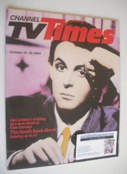 CTV Times magazine - 13-19 October 1984 - Paul McCartney cover