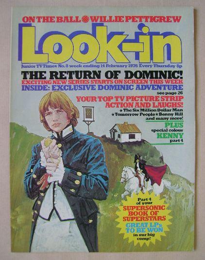 <!--1976-02-14-->Look In magazine - 14 February 1976