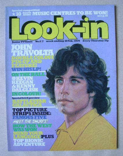 <!--1979-02-10-->Look In magazine - John Travolta cover (10 February 1979)