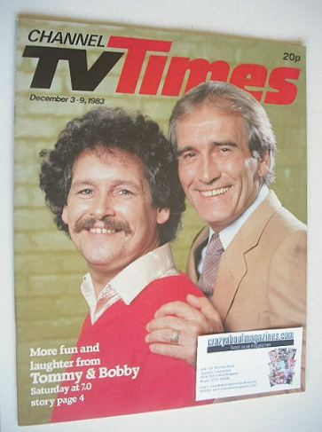 <!--1983-12-03-->CTV Times magazine - 3-9 December 1983 - Cannon and Ball c
