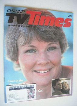 CTV Times magazine - 26 November - 2 December 1983 - Judi Dench cover