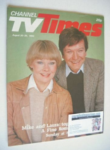 <!--1983-08-20-->CTV Times magazine - 20-26 August 1983 - Judi Dench and Mi