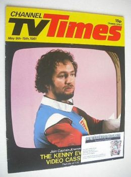 CTV Times magazine - 9-15 May 1981 - Kenny Everett cover