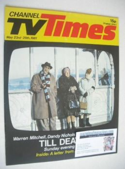 CTV Times magazine - 23-29 May 1981 - Till Death cover