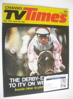 CTV Times magazine - 30 May - 5 June 1981 - The Derby cover