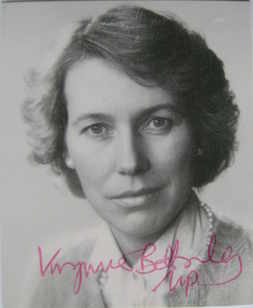 Virginia Bottomley autograph