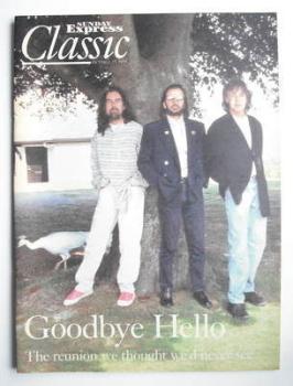 <!--1995-10-29-->Sunday Express Classic magazine - 29 October 1995 - Paul McCartney, George Harrison and Ringo Starr cover