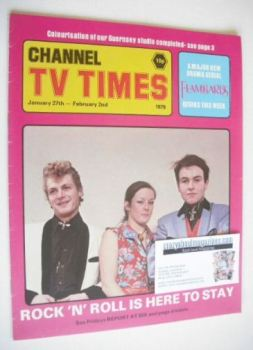 CTV Times magazine - 27 January - 2 February 1979 - Rock 'n' Roll cover