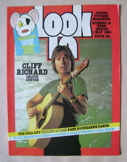 <!--1982-05-01-->Look In magazine - Cliff Richard cover (1 May 1982)