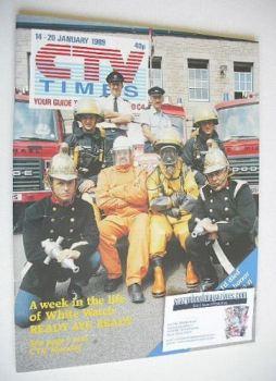 CTV Times magazine - 14-20 January 1989 - Ready Aye Ready cover