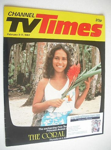 <!--1983-02-05-->CTV Times magazine - 5-11 February 1983 - Pele Teuila cove