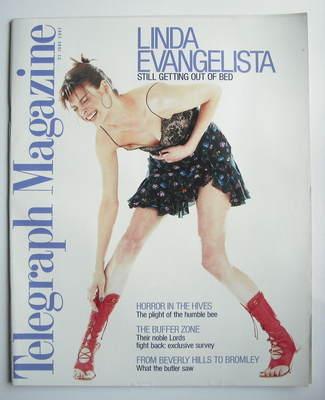 <!--1997-06-21-->Telegraph magazine - Linda Evangelista cover (21 June 1997