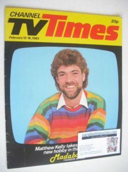 CTV Times magazine - 12-18 February 1983 - Matthew Kelly cover