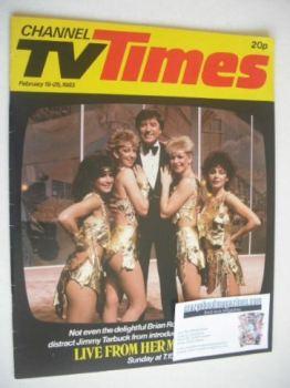 CTV Times magazine - 19-25 February 1983 - Jimmy Tarbuck cover