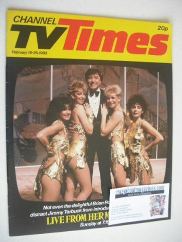 <!--1983-02-19-->CTV Times magazine - 19-25 February 1983 - Jimmy Tarbuck c