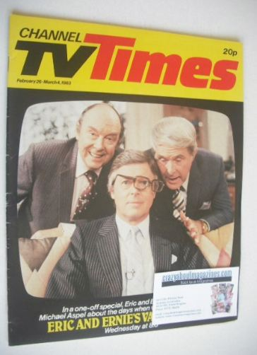 <!--1983-02-26-->CTV Times magazine - 26 February - 4 March 1983 - Eric, Er