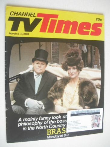 <!--1983-03-05-->CTV Times magazine - 5-11 March 1983 - Brass cover