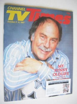CTV Times magazine - 3-9 October 1987 - Jimmy Greaves cover