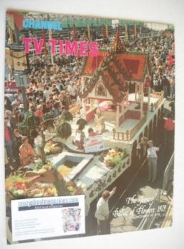CTV Times magazine - 1-7 September 1979 - Jersey Battle Of Flowers cover