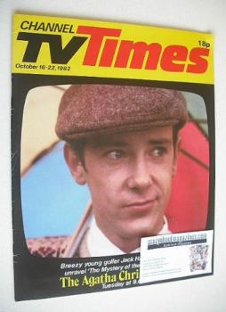 CTV Times magazine - 16-22 October 1982 - Robin Kermode cover