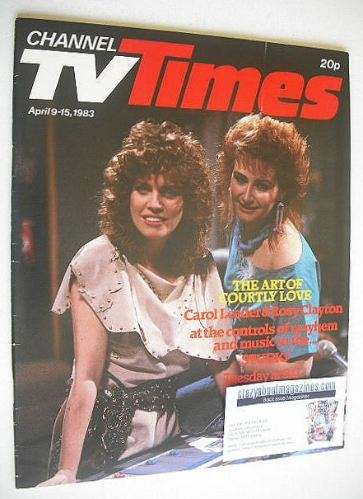 <!--1983-04-09-->CTV Times magazine - 9-15 April 1983 - Carol Leader & Rosy