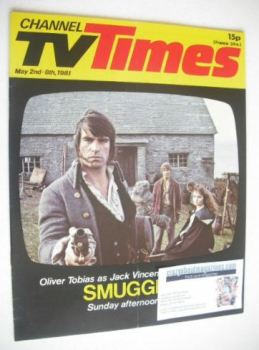 CTV Times magazine - 2-8 May 1981 - Smuggler cover