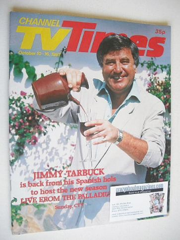 <!--1987-10-10-->CTV Times magazine - 10-16 October 1987 - Jimmy Tarbuck co