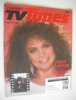 CTV Times magazine - 1-7 June 1985 - Dyan Cannon cover
