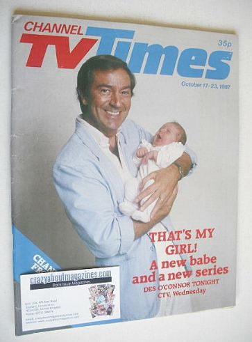 <!--1987-10-23-->CTV Times magazine - 17-23 October 1987 - Des O'Connor cov