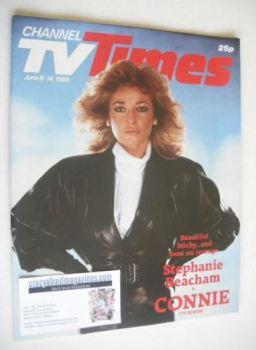 CTV Times magazine - 8-14 June 1985 - Stephanie Beacham cover