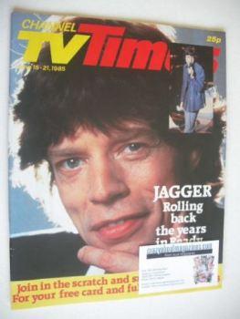 CTV Times magazine - 15-21 June 1985 - Mick Jagger cover
