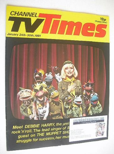 <!--1981-01-24-->CTV Times magazine - 24-30 January 1981 - Debbie Harry and