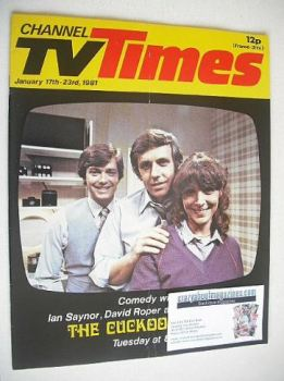 CTV Times magazine - 17-23 January 1981 - The Cuckoo Waltz cover