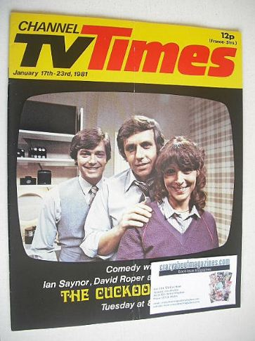 <!--1981-01-17-->CTV Times magazine - 17-23 January 1981 - The Cuckoo Waltz