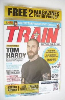 Train magazine - Issue 28 - Tom Hardy cover
