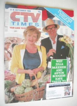 CTV Times magazine - 9-15 September 1989 - French Fields cover