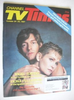 CTV Times magazine - 24-30 October 1987 - The Charmer cover