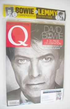 Q magazine - David Bowie cover (March 2016)