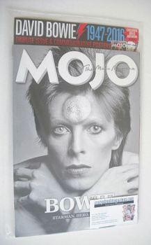 MOJO magazine - David Bowie cover (March 2016)