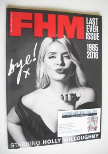 <!--2016-02-->FHM magazine - Holly Willoughby cover (February 2016)
